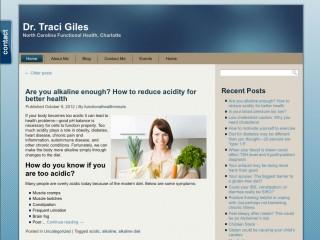 Dr Traci Giles