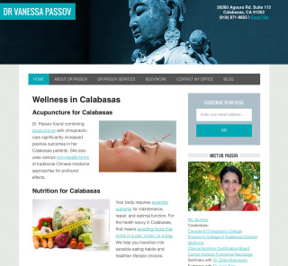 Dr. Vanessa Passov Website