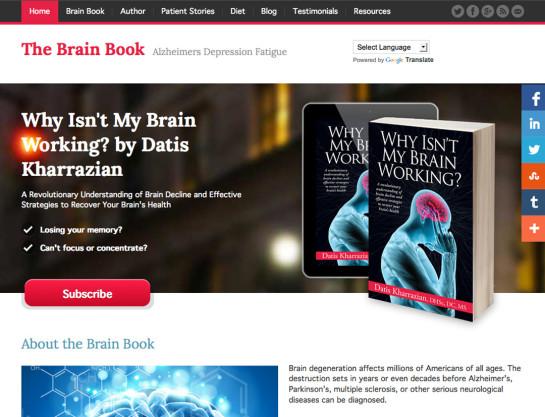 Dr. Kharrazian Brain Book Website