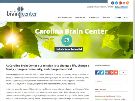 Carolina Brain Center